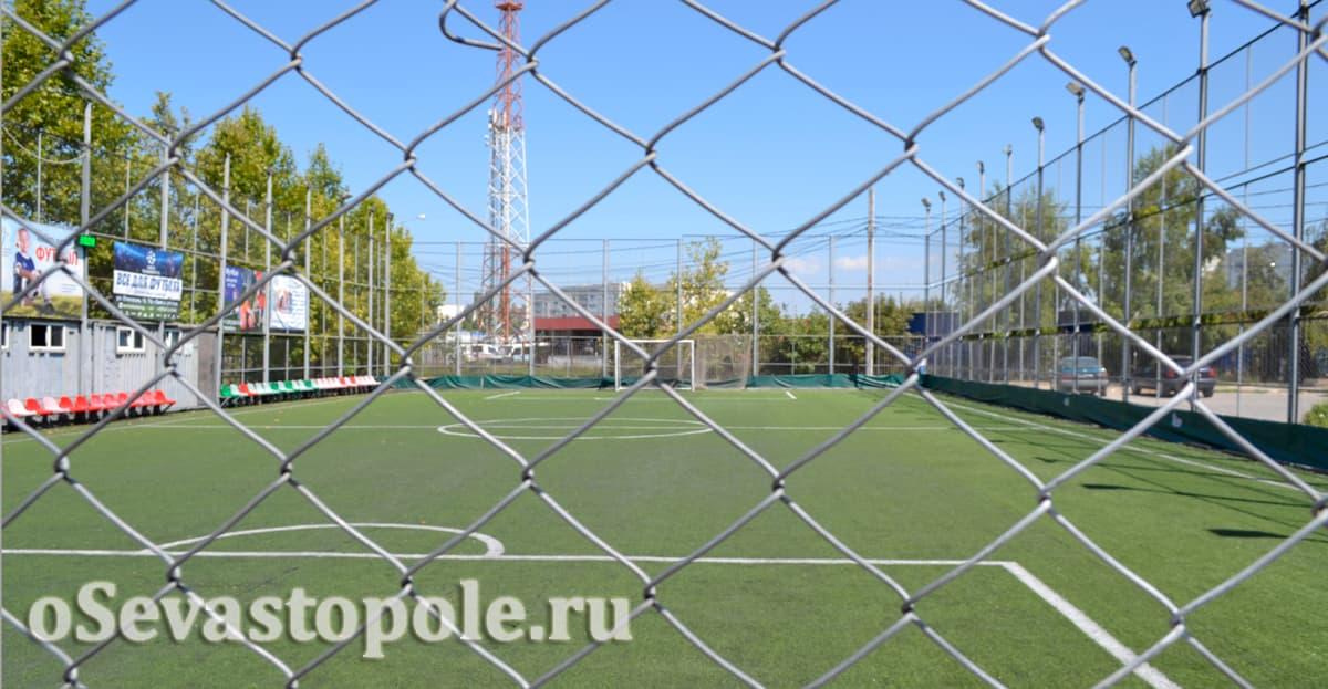 Футбольное поле Апельсин в Севастополе