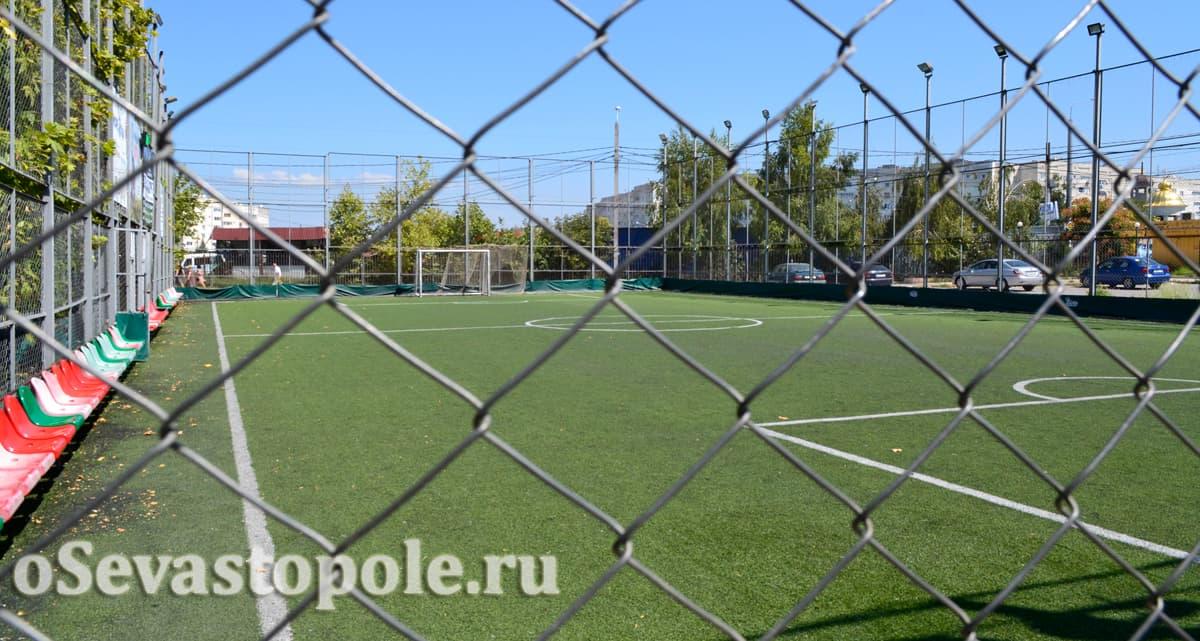 Футбольное поле Апельсин Арена Севастополь