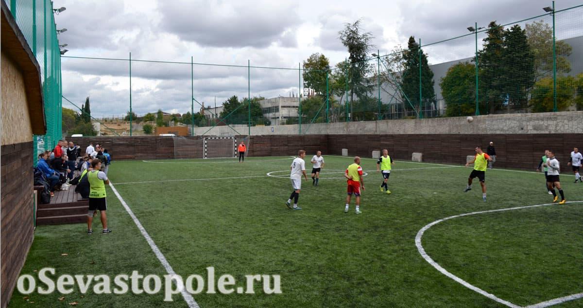 Футбольное поле Муссон Севастополь