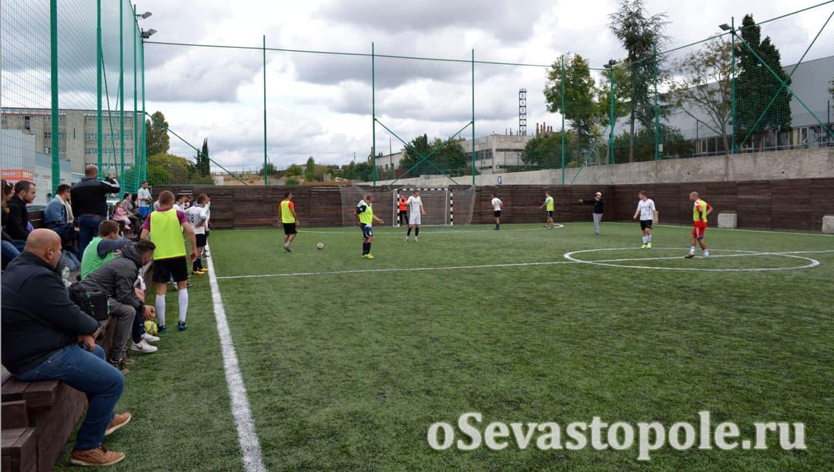 Футбольное поле Муссон в Севастополе