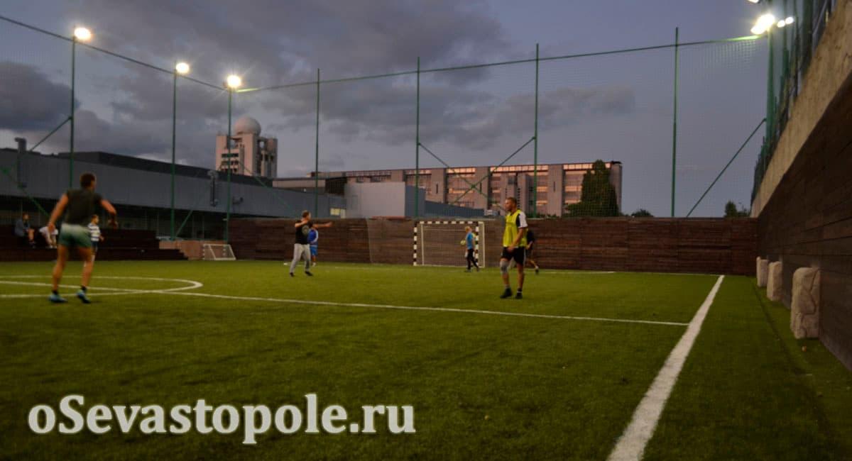 Футбольное поле на Муссоне Севастополь