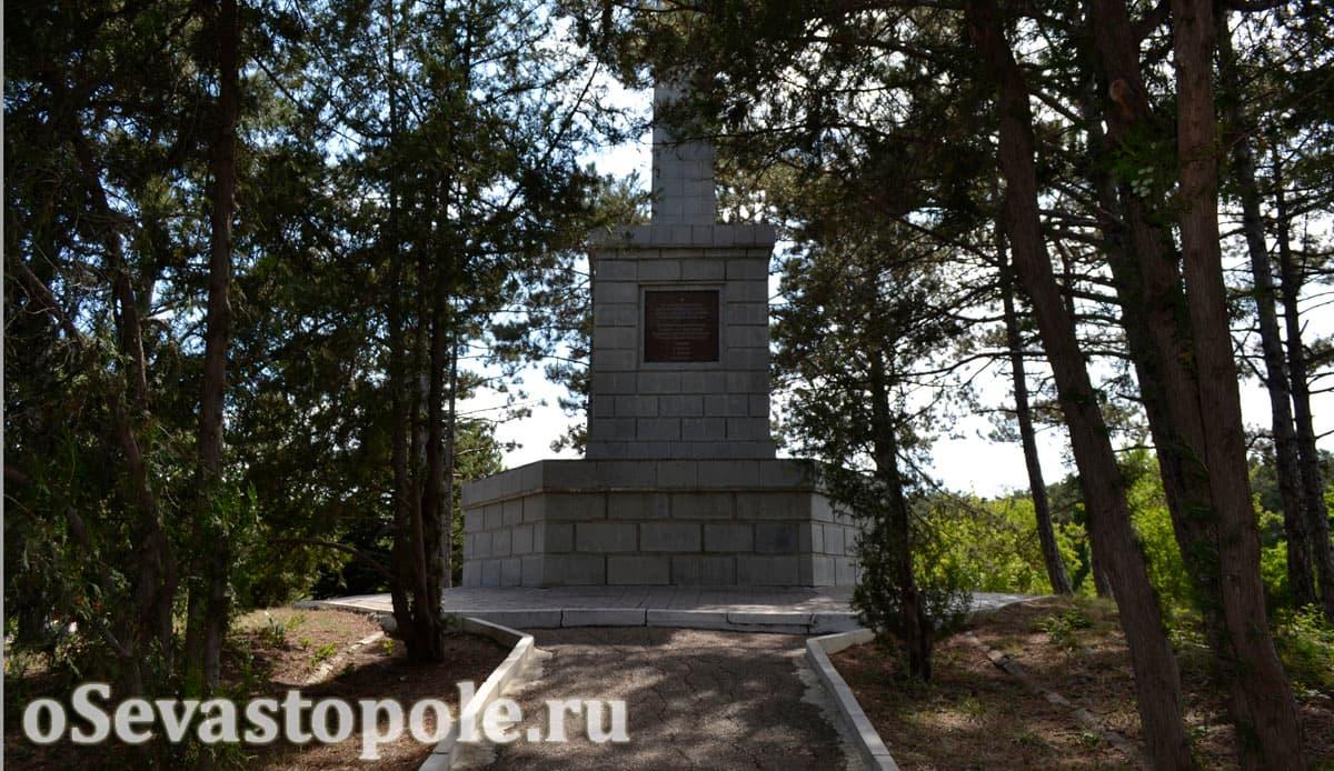 Памятник бойцам 51 армии на Сапун-горе в Севастополе