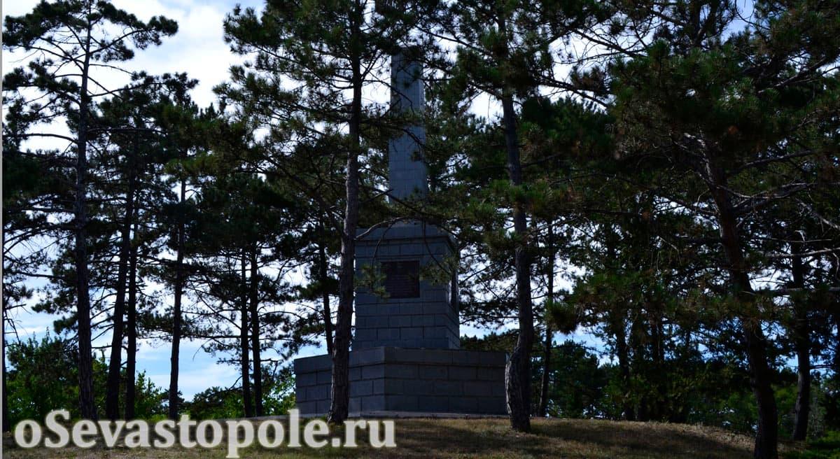 Памятник воинам 51 армии на Сапун-горе