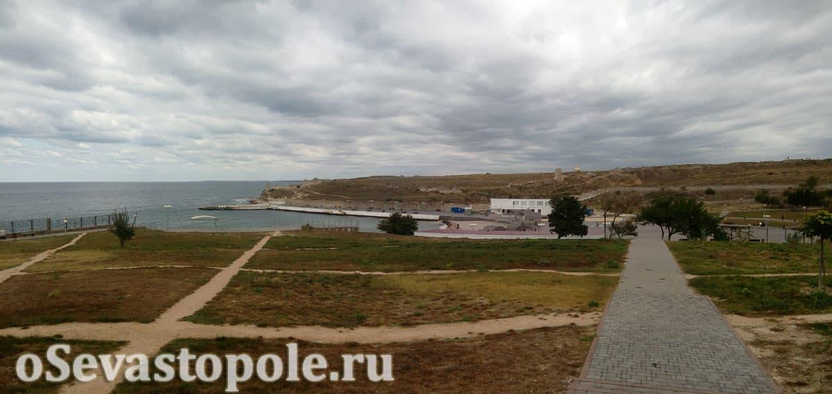 Пляж Солнечный Севастополь после реконструкции