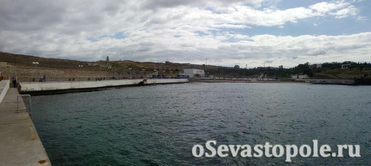 Пляж Солнечный Севастополь