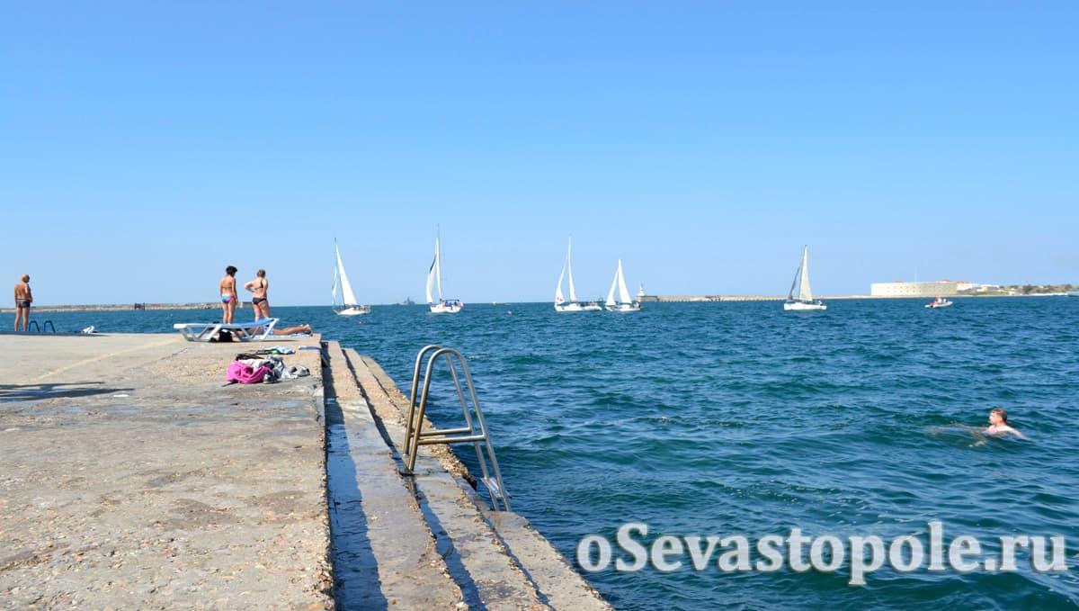 Пляж Хрусталка