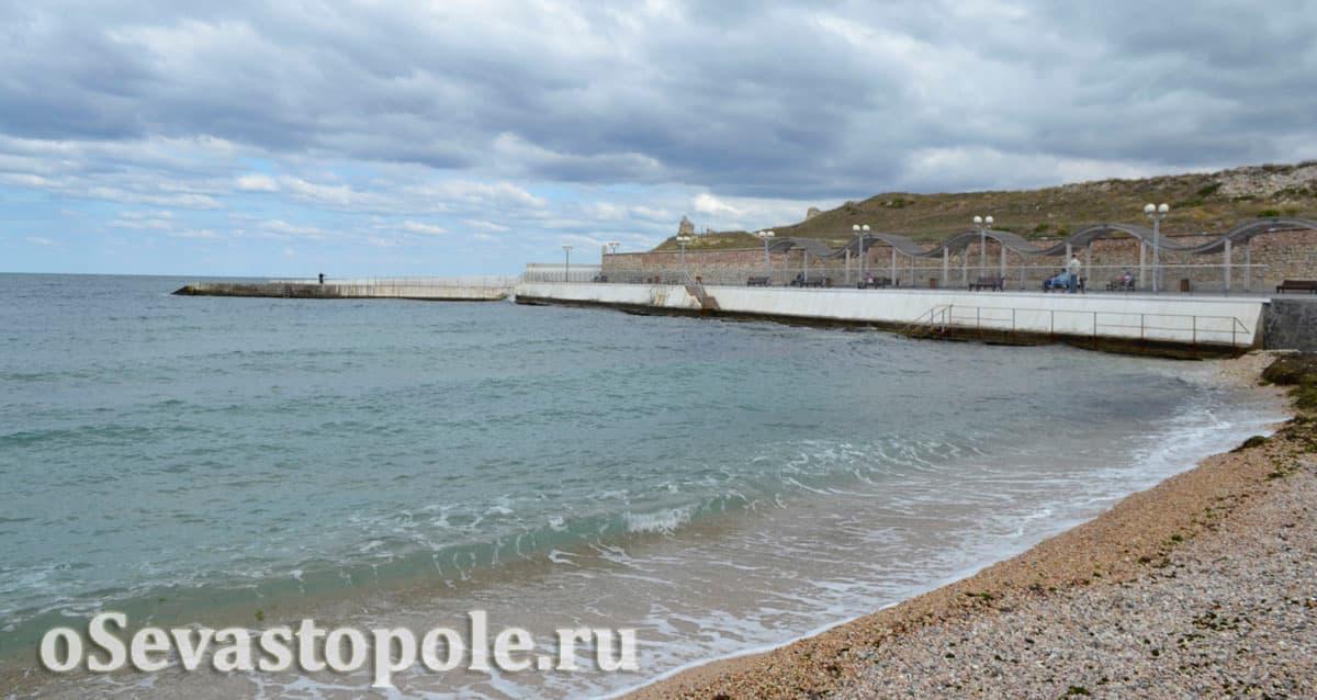 Солнечный пляж Севастополь фото
