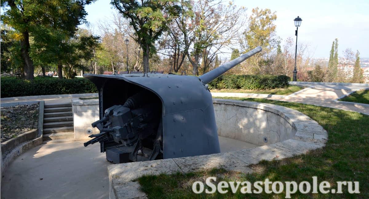 Батарея Матюхина на Малаховом кургане в Севастополе