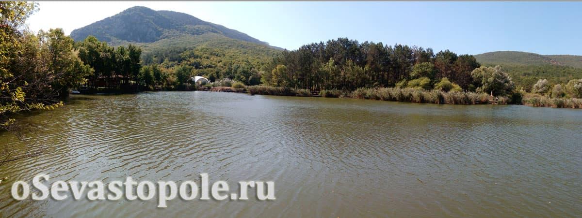 Фото озера на Тороповой даче