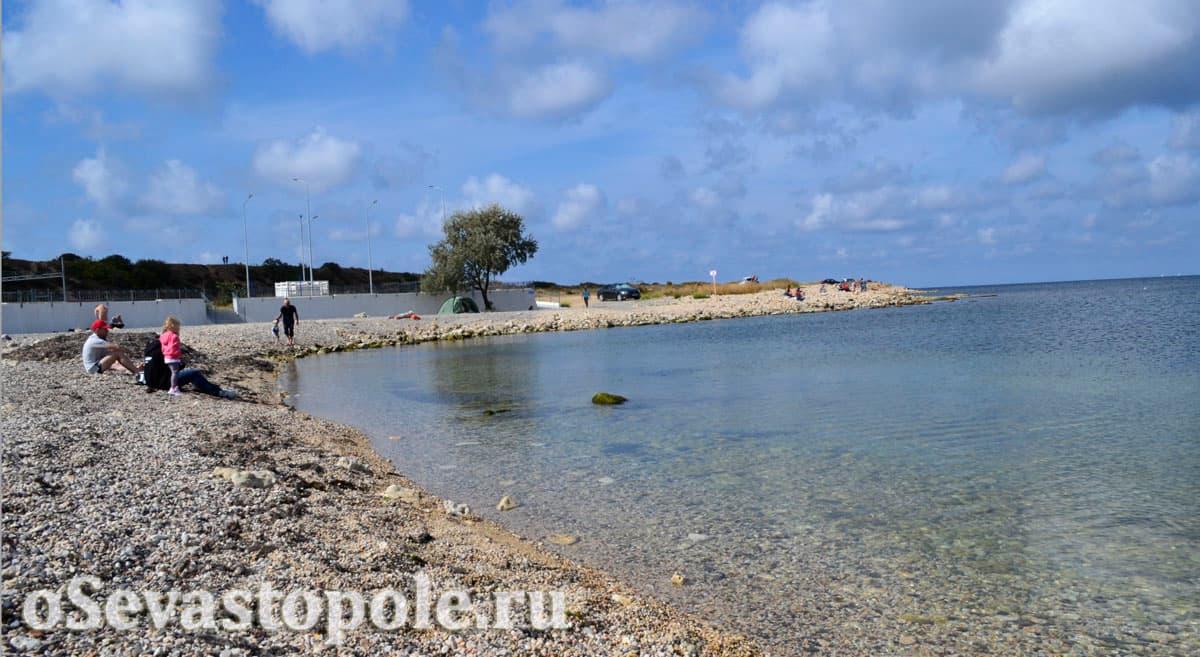 Фото Солдатского пляжа в Севастополе