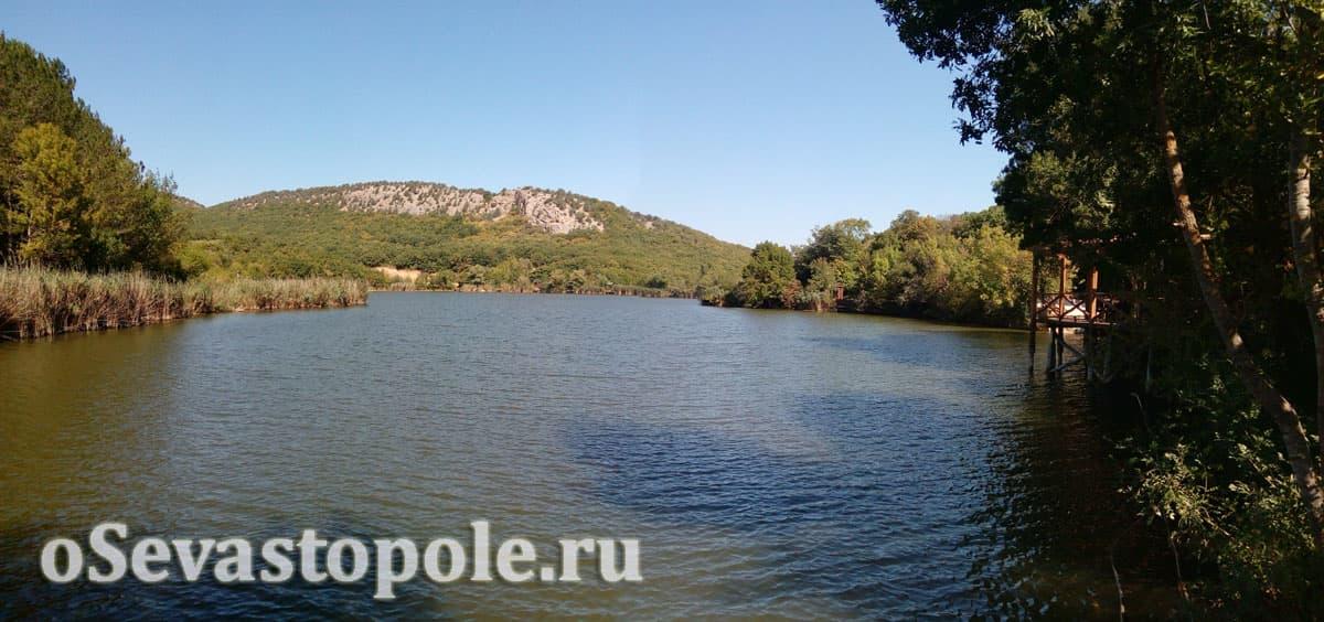 Горы окружающие на Торопову дачу в Севастополе