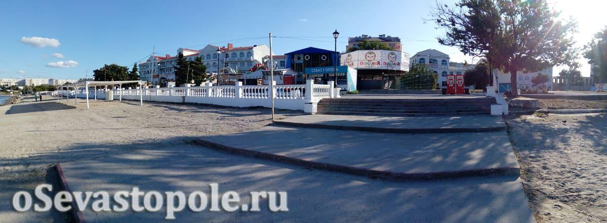 Гостиницы рядом с пляжем Омега в Севастополе