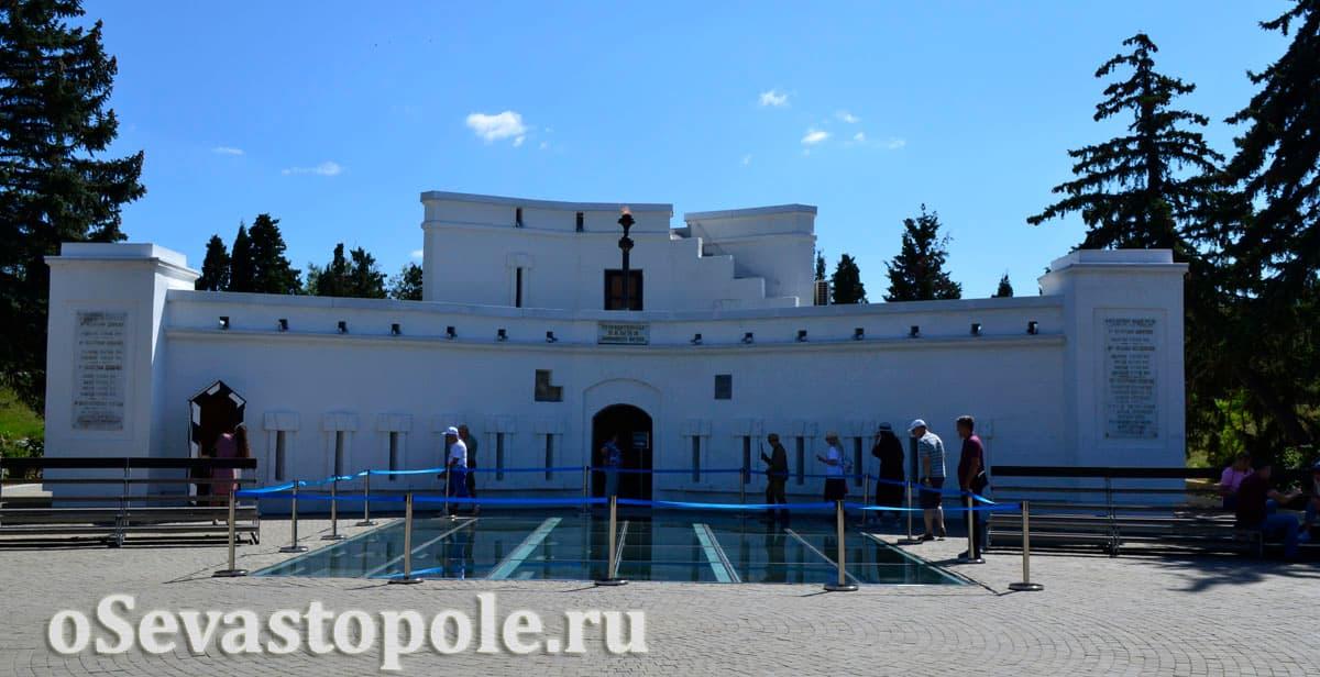 Музей в оборонительной башне на Малаховом кургане