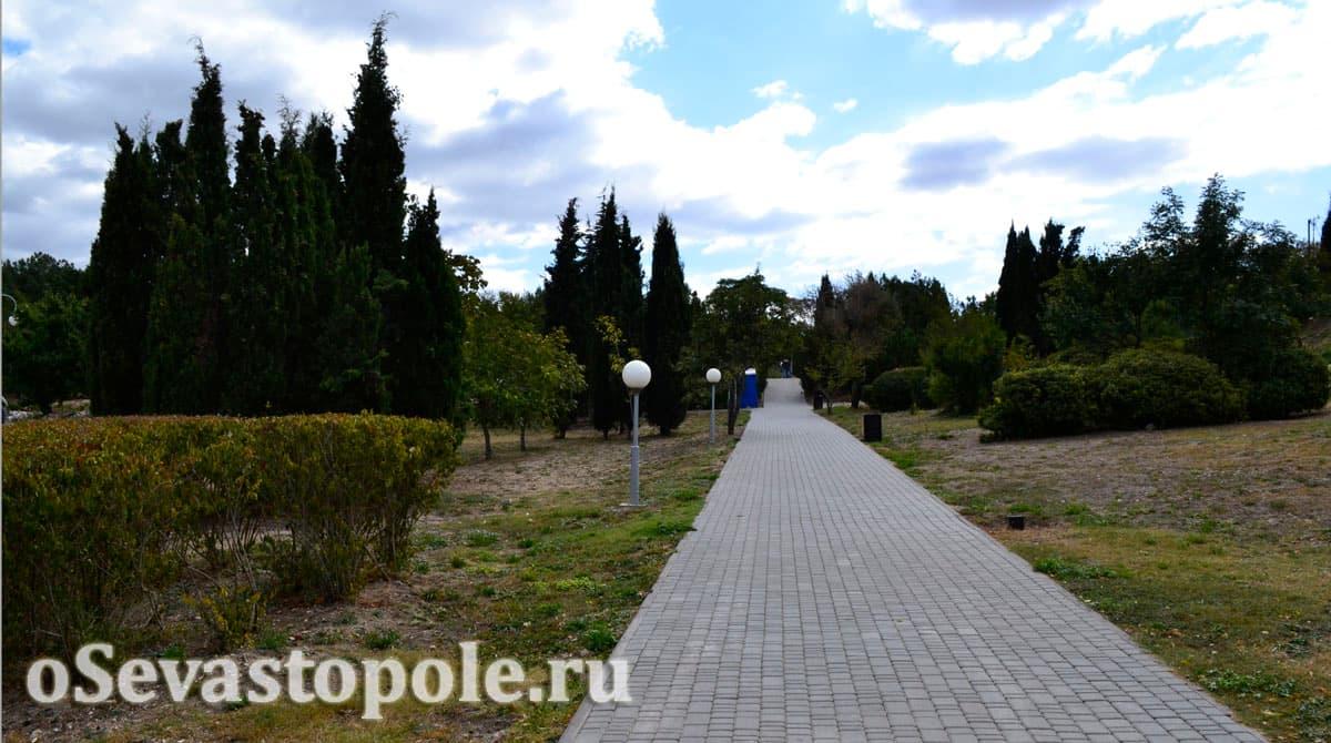 Парк имени Ахматовой Севастополь