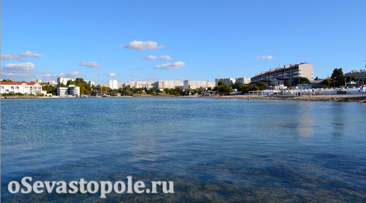 пляж Омега Севастополь фото