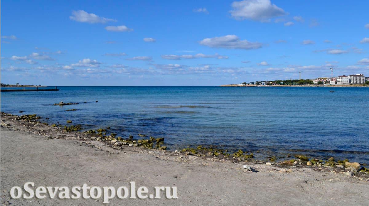 Пляж Омега в Севастополе температура воды