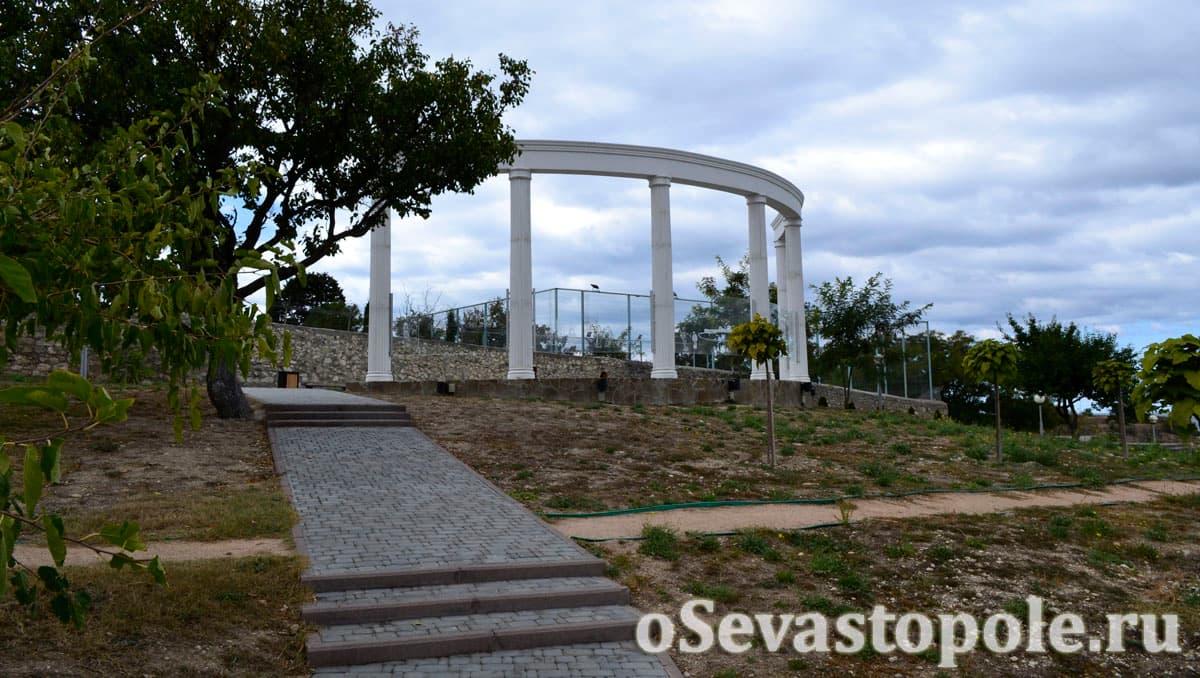 Ротонда в парке Ахматовой Севастополь