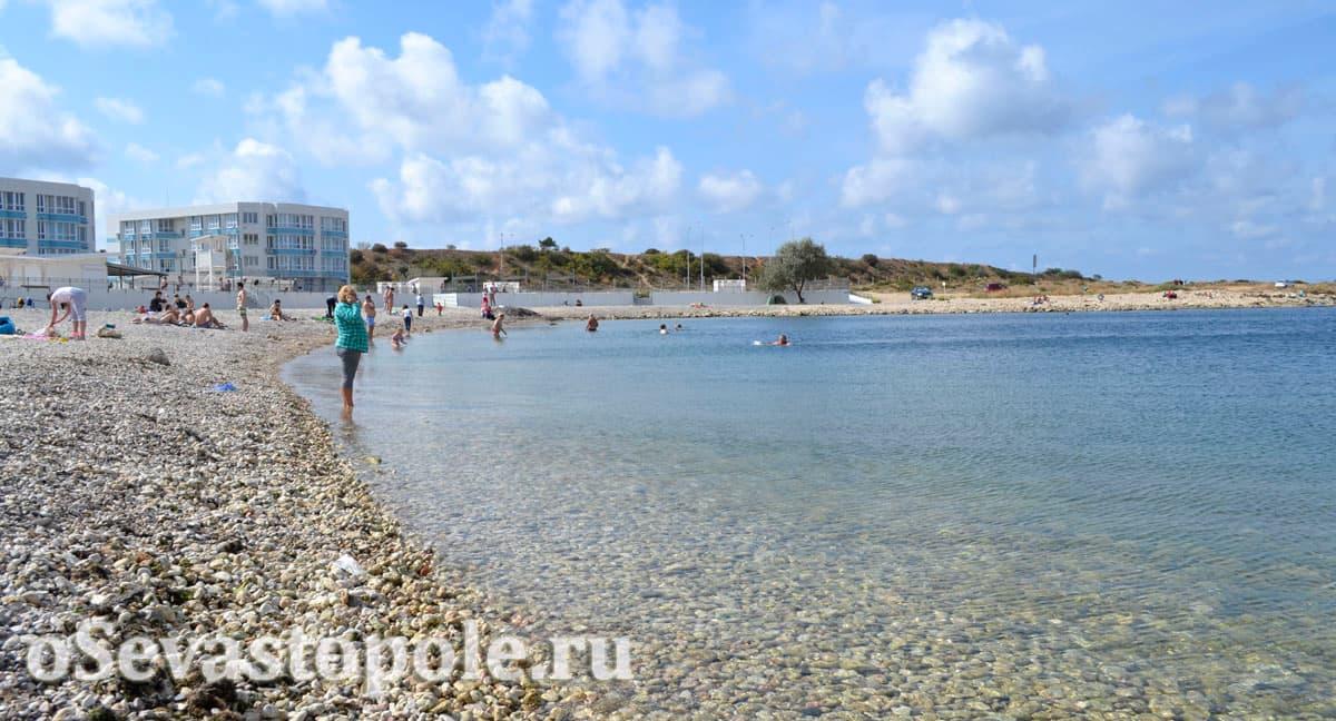 Солдатский пляж в Севастополе