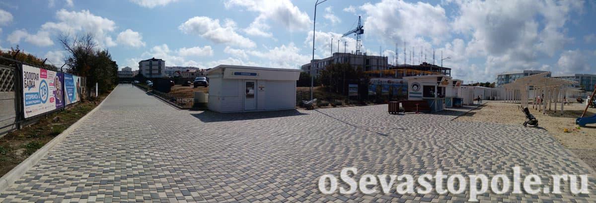 Вход на Солдатский пляж в Севастополе