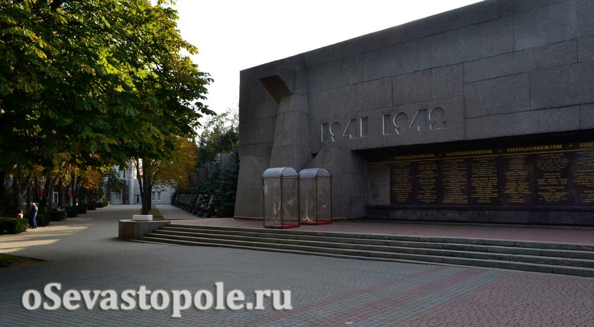 Фото аллеи Славы городов-героев в Севастополе