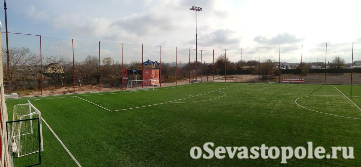 Футбольный комплекс Патриот в Севастополе