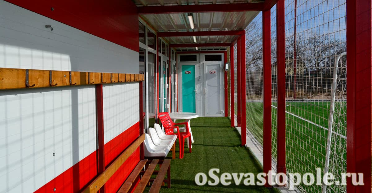Футбольный стадион Патриот Арена в Севастополе