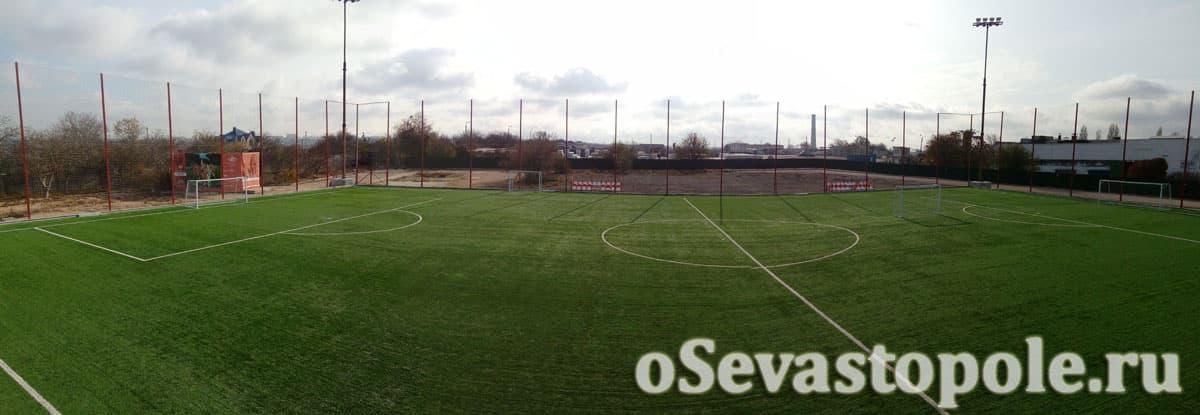 Футбольный стадион Патриот в Севастополе