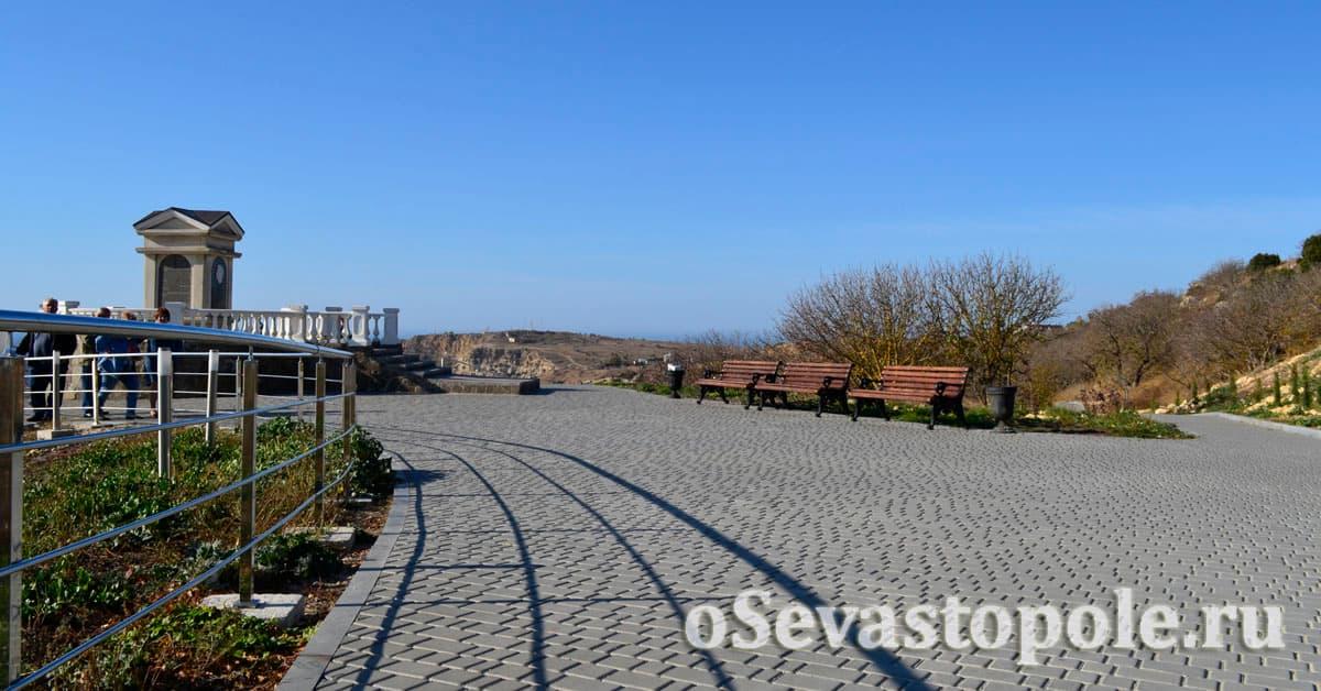 парк на Фиоленте возле монастыря фото