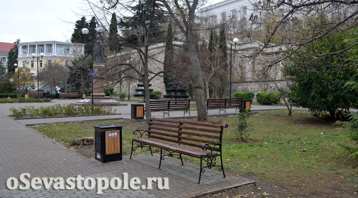 Екатерининский сквер Севастополя