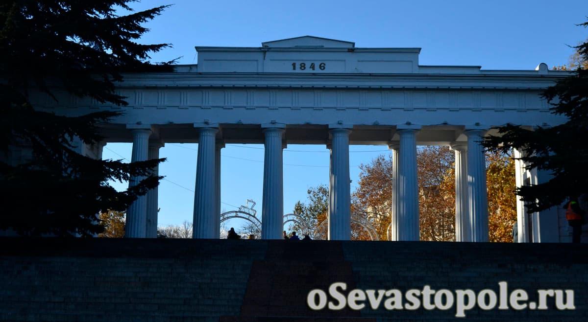 Графская пристань Севастополь фото