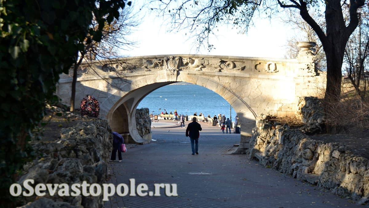 Легенда моста влюбленных Cевастополя