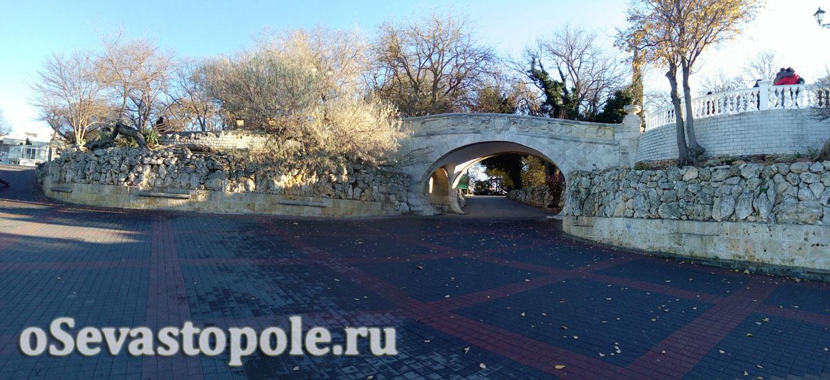 Мост влюбленных Севастополя