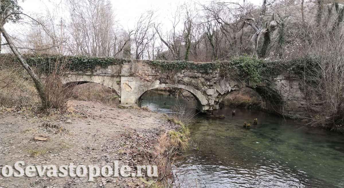 Чоргуньский мост-акведук на реке Черная