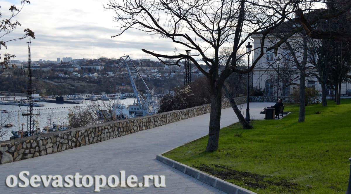 Фото сквера Ленинского комсомола
