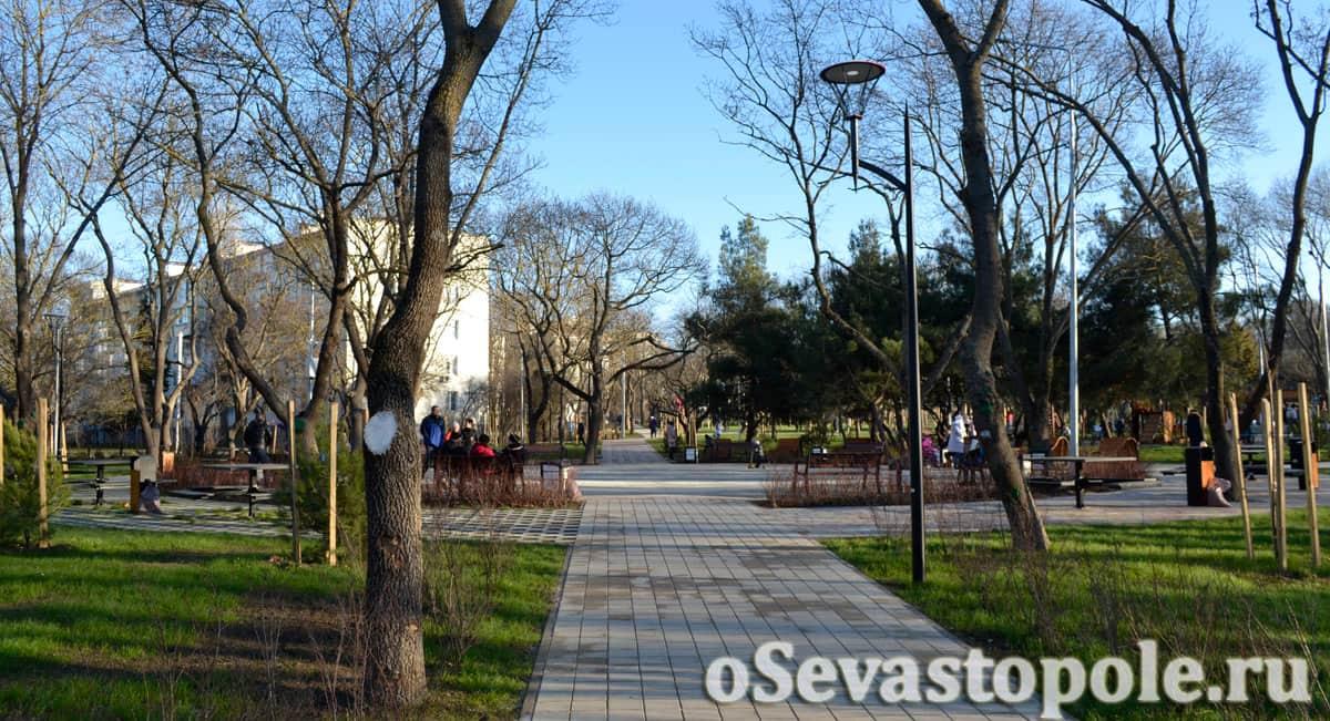 Парк 60-летия СССР в Севастополе после реконструкции