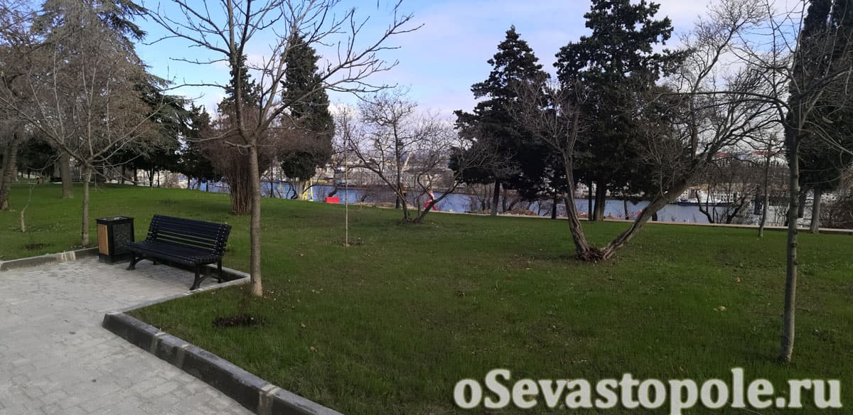 Сквер Ленинского комсомола Севастополь