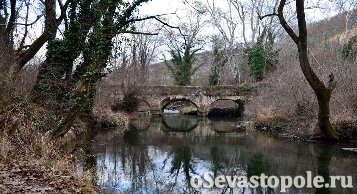 Заброшенный Чоргуньский мост-акведук xix века