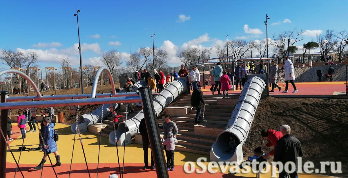 Детский парк в Учкуевке