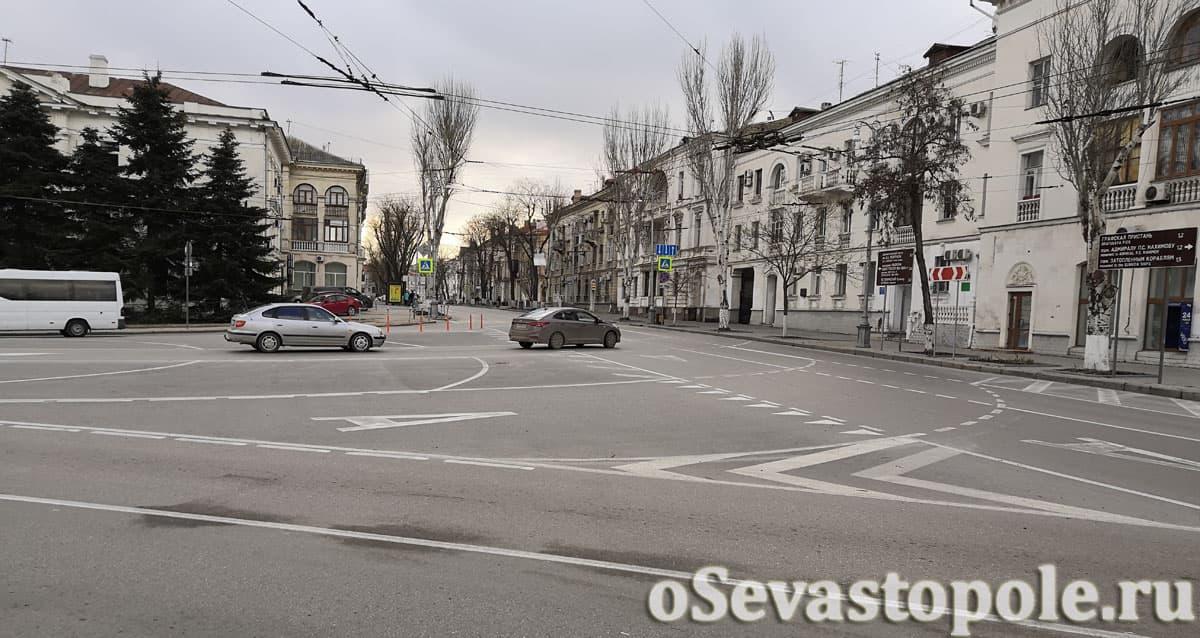 Фото площадь Суворова Севастополь