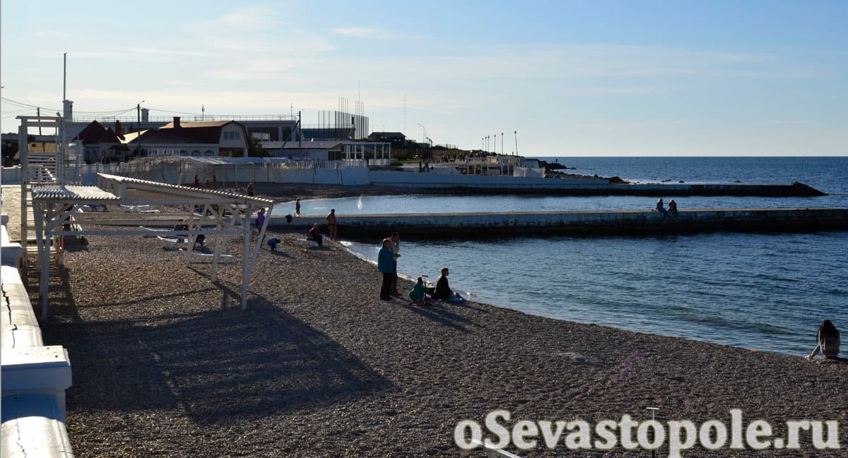 Фото пляжа Парк Победы в Севастополе