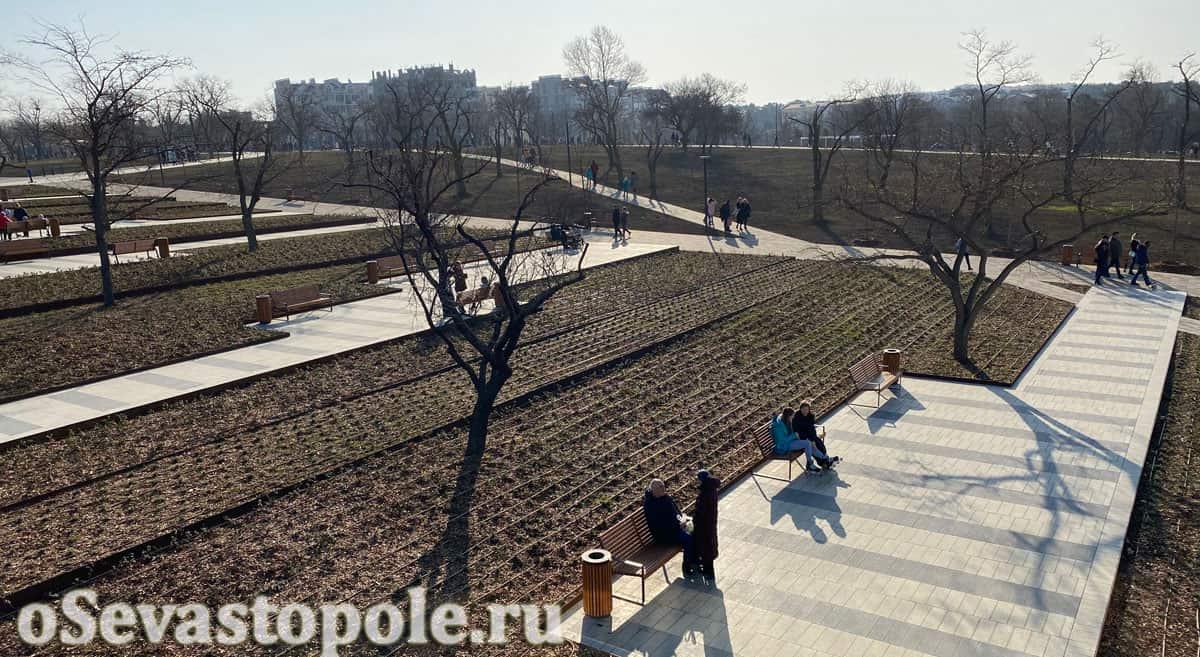 Фотография парка Учкуевка в Севастополе