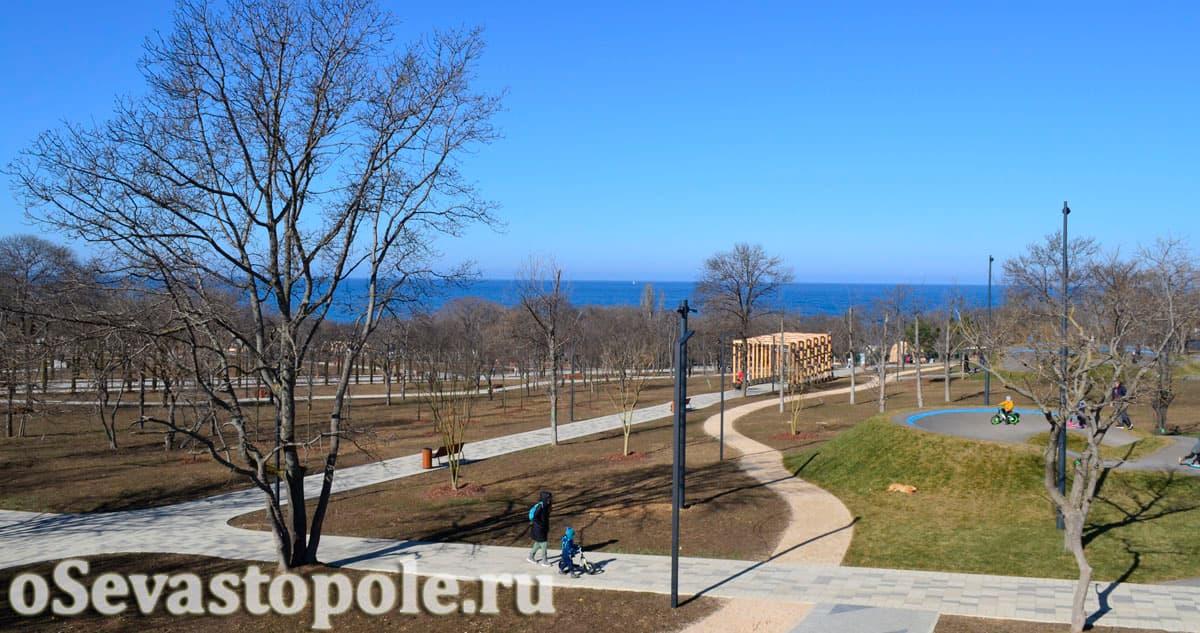 Новый парк в Учкуевке