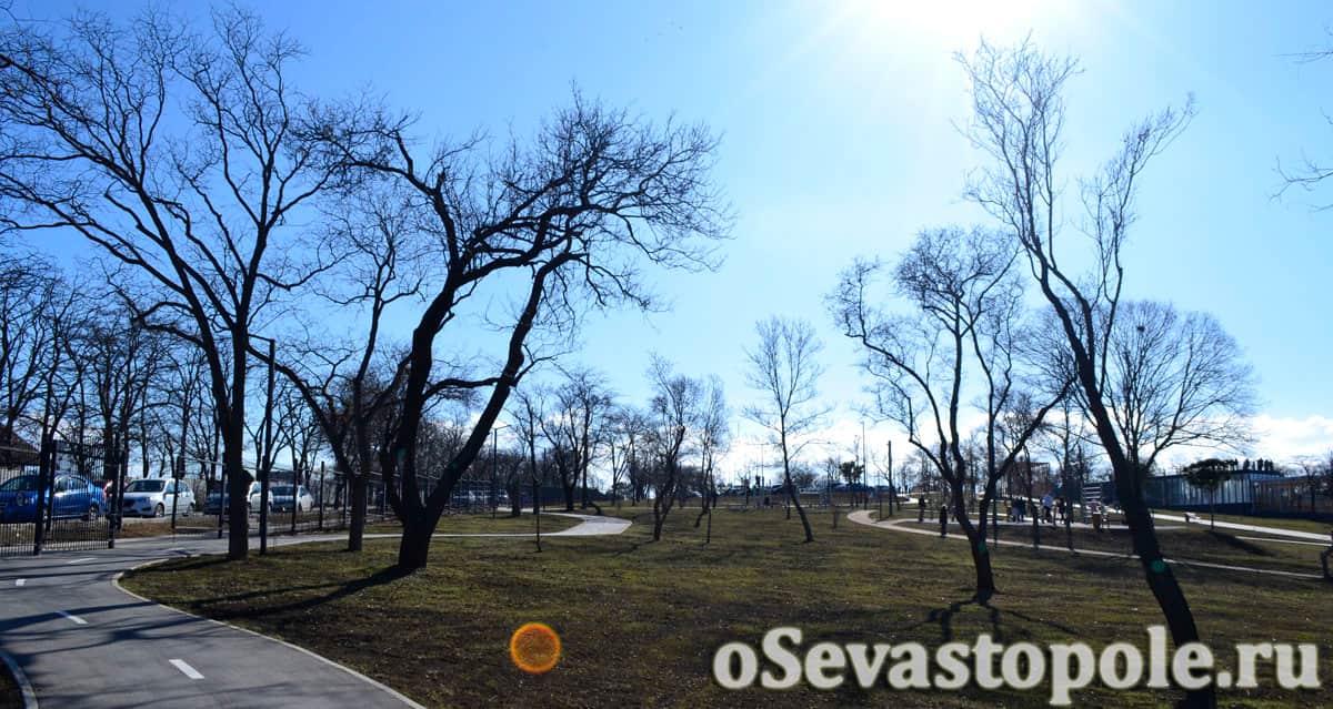 Ограждения в Парке Учкуевка