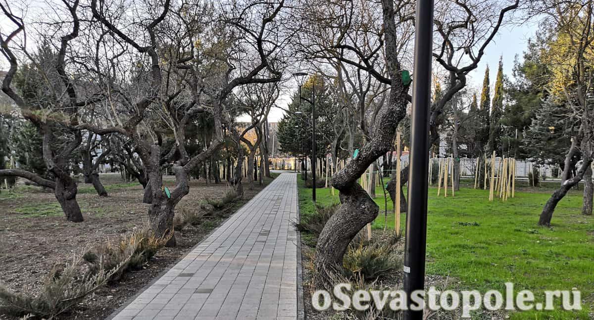 Парк 60-ти летия СССР в Севастополе