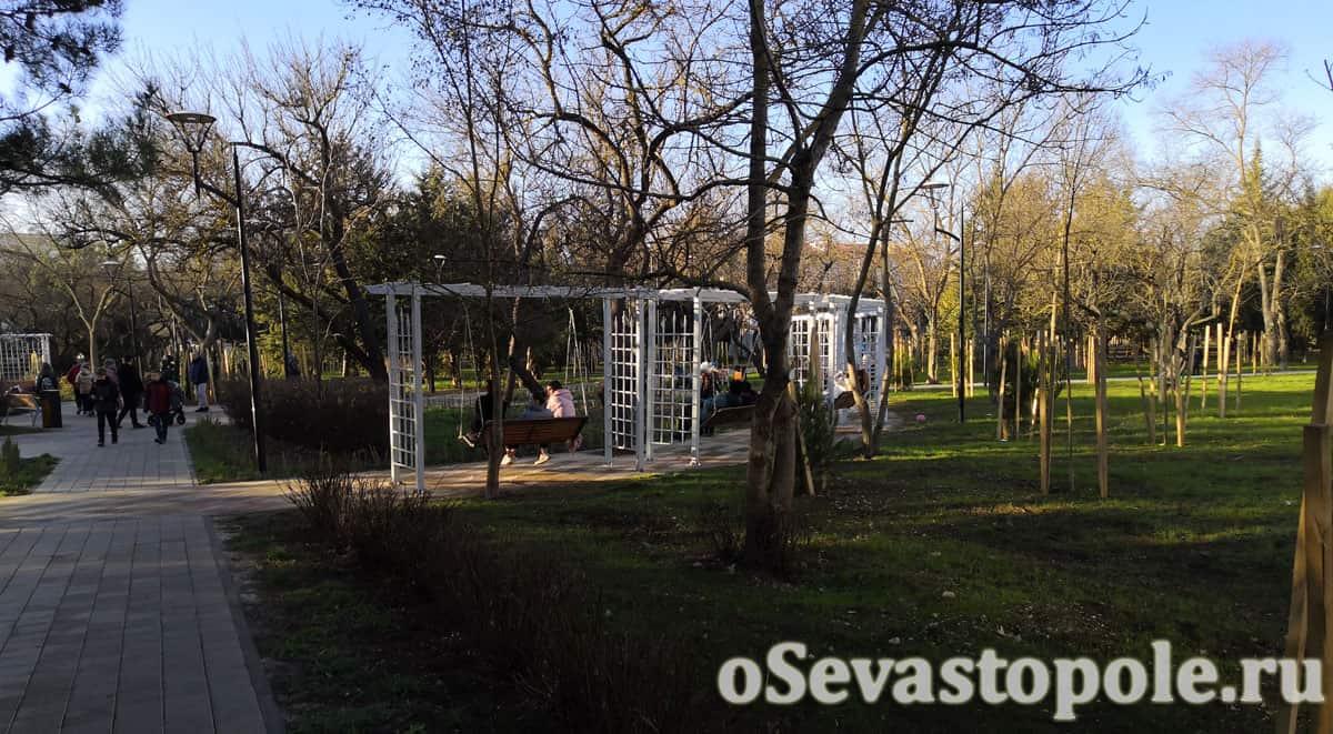 Парк имени 60-летия СССР Севастополь