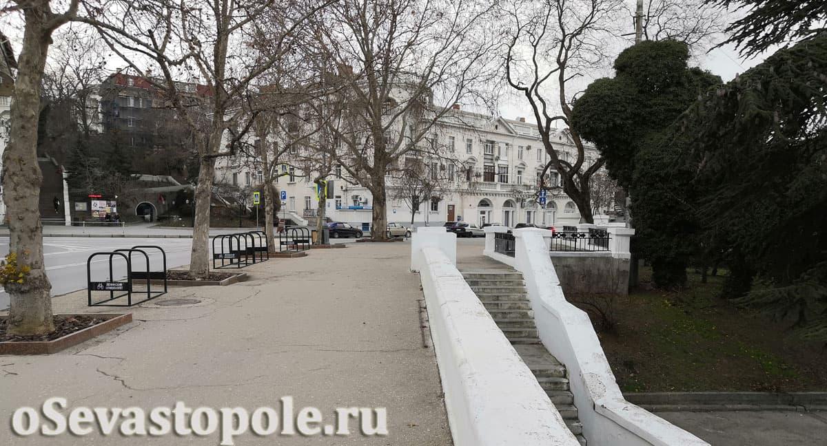 Площадь Суворова Севастополь