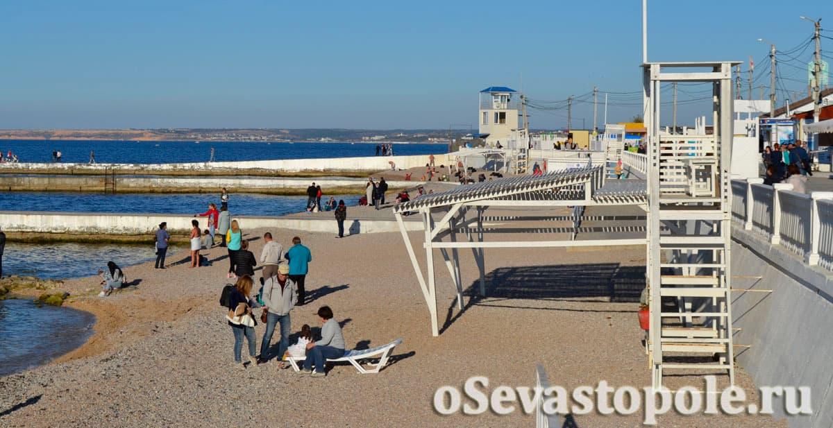 Пляж Парка Победы Севастополь