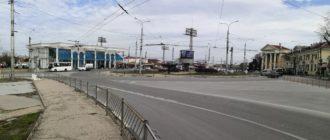 Площадь Восставших в Севастополе