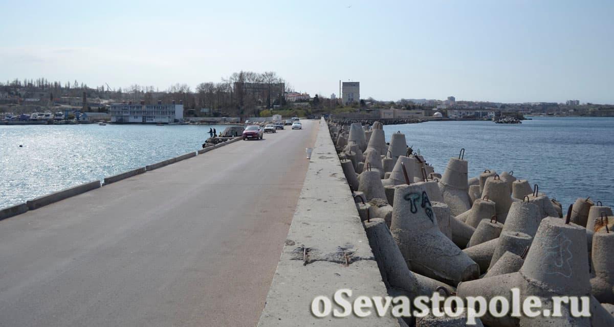 Городской мол Севастополя