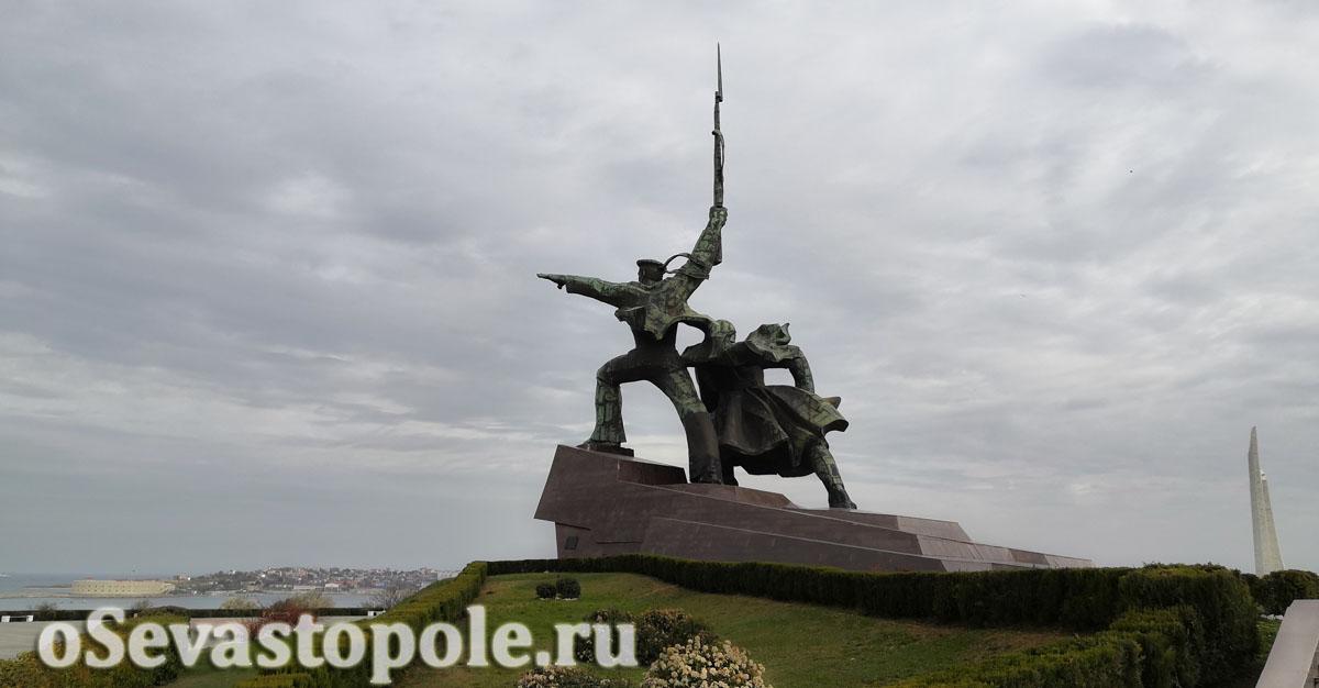 Памятник Солдату и Матросу фото